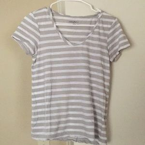 Halogen striped tee from Nordstrom